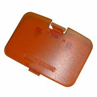 Replacement Expansion Jumper Pak Cover Door Lid For Nintendo N64 Console Orange
