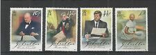 GIBRALTAR 2008 EUROPA WRITING LETTERS SG,1275-1278 U/MM N/H LOT 3852A