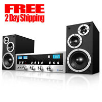 New CD Stereo System Bluetooth Home Speaker Innovative Technology MP3 FM Radio