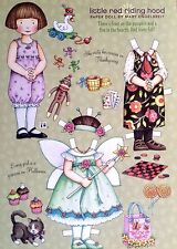 Mary Engelbreit Mag. Paper Doll, Little Red Riding Hood, Oct./Nov. 2008, Uncut