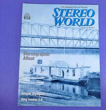 Stereo World 30-5 (2005) magazine - Athens Olympics, Iranian 3D,