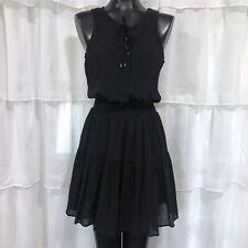 Medium - NWT UNIVERSAL THREAD GOODS CO. Black Lace Up Front Dress