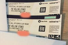 2 x The Rolling Stones Tickets | Berlin | 22.06.2018 | TOP Sitzplätze