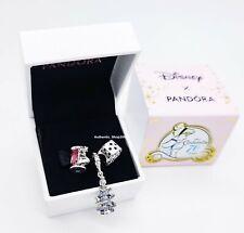 Authentic PANDORA Disney Cinderella Suzy Mouse Pumpkin Gift Set of 3 Charms