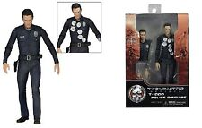 """Terminator Genisys T-1000 POLICE DISGUISE 7"""" Action Figure NECA"""