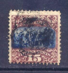 US Stamps - #119 - USED- 15 cent type II  1869 Pictorial Issue  - CV  $190