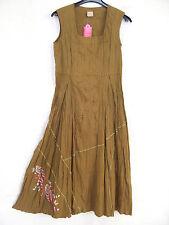Damenkleider mit eckigem Ausschnitt aus Baumwolle für die Freizeit