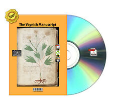 The Voynich Manuscript  For your Kindle, Moby,Nok, Android,iPad PDF Book On CD