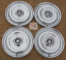 "1961 MERCURY MONTCLAIR, MONTEREY, PARK LANE COLONY PARK 14"" WHEEL COVERS HUBCAPS"