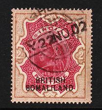 SOMALILAND 1903 2r CARMINE & YELLOW-BROWN SG 22 FINE USED.