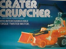 K1800852 CRATER CRUNCHER MISB MINT IN SEALED BOX MICRONAUTS 1976 COMPLETE MEGO