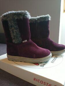 Ricosta Infant Girls boot - Size 24 (infant 7 UK)