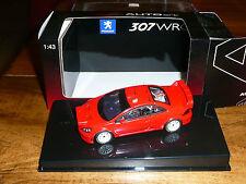 AUTO art 1/ 43 - PEUGEOT 307 WRC Rouge