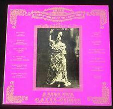 Amelita Galli-Curci, Ember England GVC 22 LP & CV NM