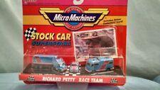 Micro Machines # 7432  Richard Petty Coll # 1 Stock Car w/Drivers Card MIB