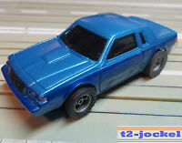 For H0 Slotcar Racing Model Railway 1987 Buick with AFX Engine