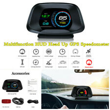 OBD2+GPS Dual Mode HUD Head Up Display Speedometer Car Detector Security System