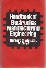 Electronics Industry Production Design Engineering Handbook 79 Matisoff Vintage