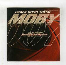 CD SINGLE (NEW) MOBY JAMES BOND THEME DEMAIN NE MEURT JAMAIS