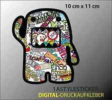 Domokun Shocker JDM Tuning DUB Decal Japan Auto Aufkleber Stickerbomb Sticker 27