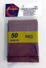 750 Magic MTG Gaming Card Protector Red Sleeves CP06