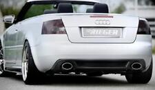 Rieger Heckeinsatz Audi A4 8H Cabrio