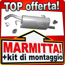 Scarico MITSUBISHI COLT VI SMART FORFOUR 1.1 1.3 dal 2004 Marmitta UUB