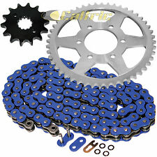 Blue O-Ring Drive Chain & Sprockets Kit Fits SUZUKI GS550E GS550EF GS550ES 83-86