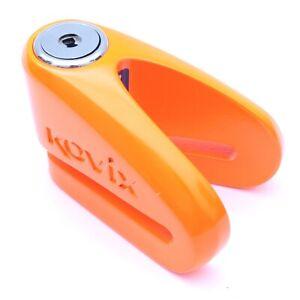 Kovix KVZ1 Moto Bloque-Disque Alarmes Anti-vol Orange Classe de Protection 5