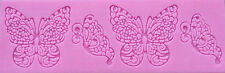 Butterfly Lace Silicone Mold for Fondant, Gum Paste, Chocolate, Crafts NEW