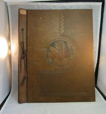 1940's embossed scrapbook album cover. NO PAGES