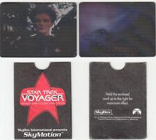 Star Trek Voyager Skymotion cards Series 1 & 2 - Voyager & Janeway