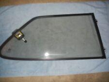 Classic SAAB 900 2 Door Hatchback Right Rear Quarter Window Bronze Tint Black