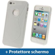 Custodie preformate/Copertine bianco per iPhone 5s