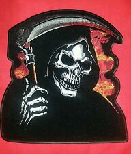Extra Large 12'' by 10.5'' Grim Reaper Patch