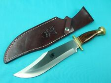 Japanese Japan Rigid RG-33 Large Bowie Fighting Knife w/ Sheath