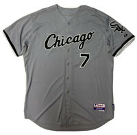 Chicago White Sox Jersey Mens 52 Majestic Cool Base Sewn #7 Neustadter MLB Team