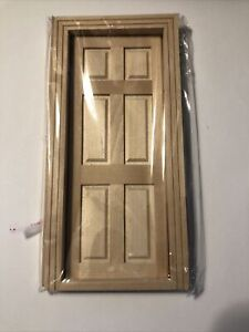 Miniature Dollhouse Interior Door- New In Package