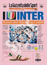 GAZZETTA DELLO SPORT DEL 23/04/2007 - INTER CAMPIONE D'ITALIA - 15° SCUDETTO***