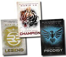 The Legend Trilogy Series Collection Marie Lu 3 Books Set Prodigy, Champion PB