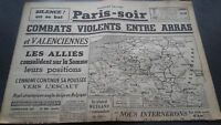 Journal París-soir N º 6095 Dimanche 26 Mai 1940 ABE