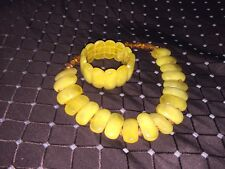 natural baltic amber necklace and braclet
