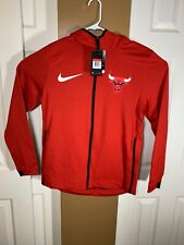 Men's NBA Hoodie Chicago Bulls Nike Therma Flex Showtime 940118-657 Size Large