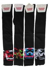 Hogan's Wholesale - Ladies Fashion Design 1 Pair Over the Knee Socks  Camouflage