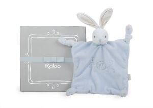 Kaloo K962162 Perle Doudou Knots Rabbit, Blue, 20 cm/7.9 Inch