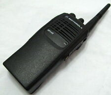 Motorola GP340 Two-Way Radio UHF 450-527 Mhz 4W 16 Channels + Accessories