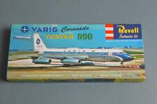 Revell 'S' style hardbox reproduction Convair 990 Varig  Boxart treasure!!