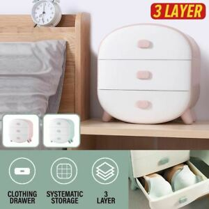 idrop 3 Layer Clothing Storage Drawer for Socks , Underwear & Bra