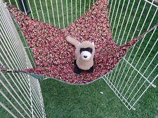 "Ferret Large Hammock - Cherries Pattern - 16"" x 16"""