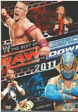 WWE: Raw and Smackdown - The Best of 2011 (DVD, 2012, 4-Disc Set) {2495}